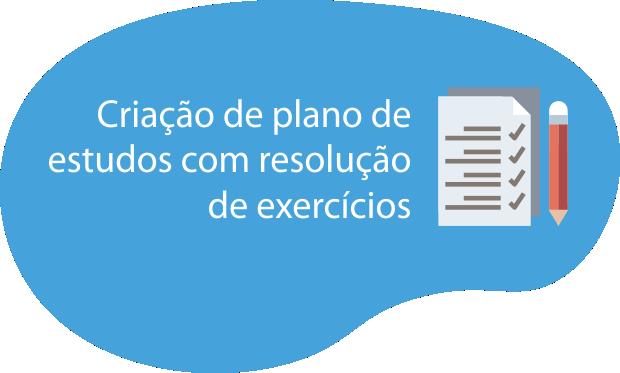 Criação de plano de estudos com resolução de exercícios